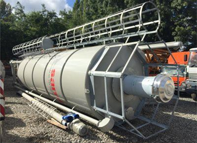 1 off New HYDROMIX / SAMI SILMATIC model SIL36/DE Vertical Cement Silo (2019)