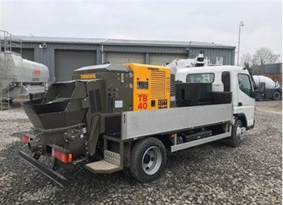 Truck-Mounted Concrete Line Pumps