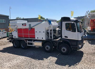 1 off New HYDROMIX / KIMERA model K9 Mobile Batching Plant (2019)