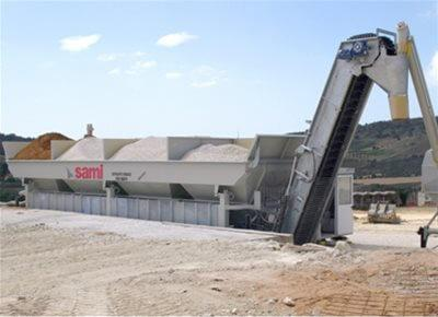 Dry Concrete Batching Plants