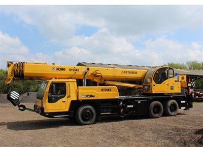 1 off Used XCMG model QY25K5 Mobile Truck Crane (2008)