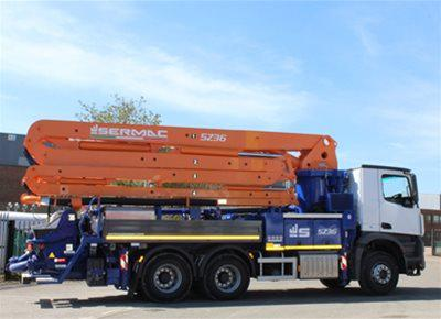 Truck-Mounted Concrete Pumps