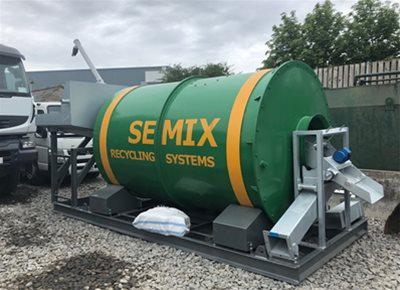 New HYDROMIX / SEMIX model SMRC10 Concrete Recycling System (2020)