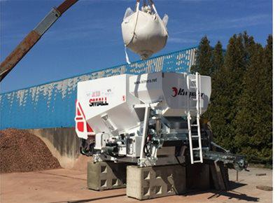 2 off New KIMERA model KS25 SMALL Mobile Concrete Batching Plants (2019)